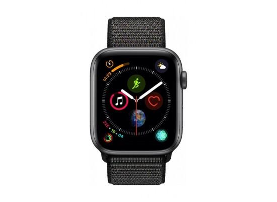 Apple Watch Series 4 44mm, Space Grey Aluminium Case, Black Sport Loop
