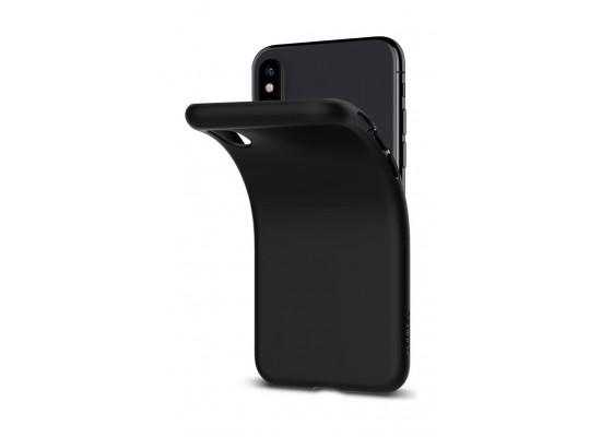 online store 92336 e8887 Spigen iPhone XS Case Liquid Crystal Case (063CS25114) - Black