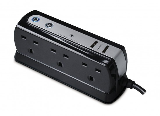 Masterplug 2M Surge Protection Extension Cord