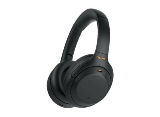 Sony Wireless Noise Canceling Over-Ear Headphone (WH-1000XM4/BME) - Black