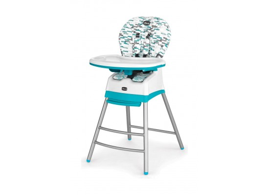 Chicco Stack 3-in-1 Highchair (193) – Aqua