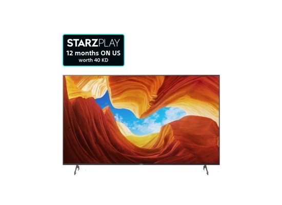Sony TV 85-inch Android 4K LED - KD-85X9000H