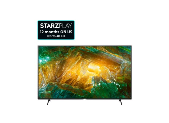 Sony TV 75-inches 4K Android LED - (KD-75X8000H)