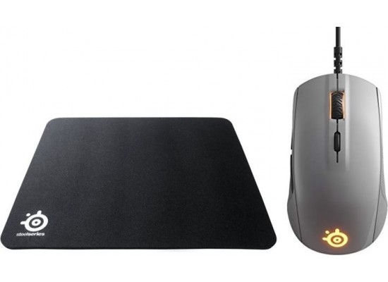 866af28d95d Steelseries QcK Mass Gaming Mouse Pad + SteelSeries Rival 110 Gaming Mouse