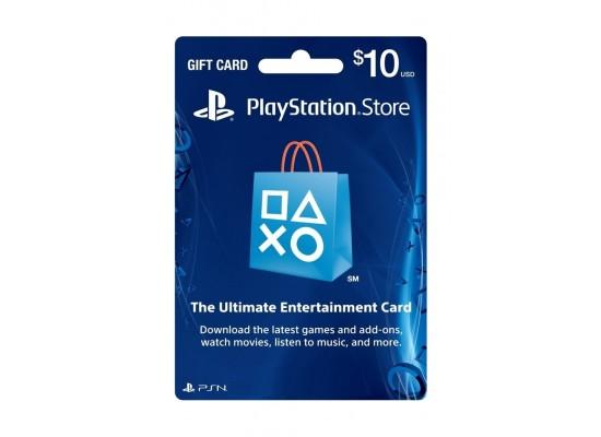 PlayStation Card USA $10
