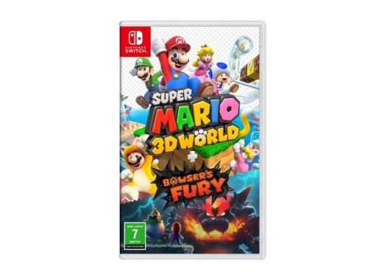 Super Mario 3D World + Bowser's Fury Game in KSA | Buy Online – Xcite
