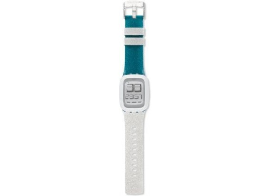 Swatch 39mm Analog Unisex Rubber Watch (SWASURS102) - Green