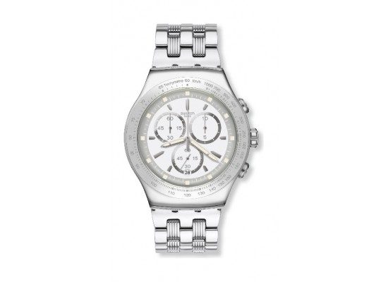 Swatch His Mastery Gents Chronograph Watch - SWAYOS459G