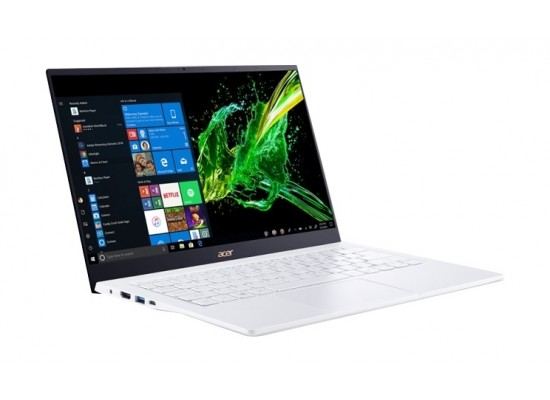Acer Swift 5 GeForce MX250 2GB Core i7 16GB RAM 512GB SSD 14-inch Latop - White