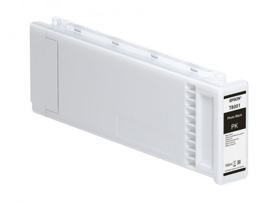 Epson T800100 UltraChrome PRO Photo Black Ink Cartridge (700mL)