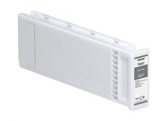 Epson T800700 UltraChrome PRO Dark Grey Ink Cartridge (700mL)