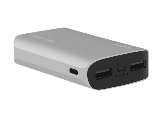 Promate 9000mAh Ultra-Fast Power Bank (TAG-9) – Silver