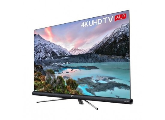 TCL 55 inch 4K Ultra HD Smart LED TV - L55C6US right