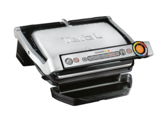 Tefal GC712D28 Optigrill+ - Left View