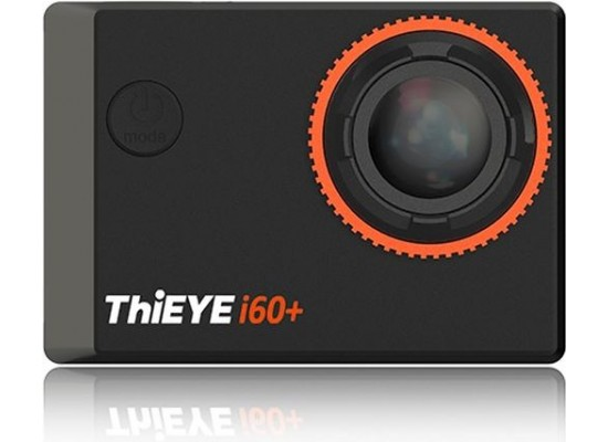 ThiEYE 160+ 4K 1080p WiFi Action Camera - Black