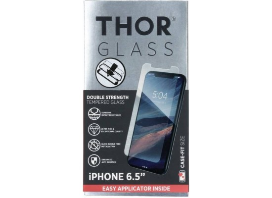 Thor Tempered Glass Protection For iPhone XS Max (33553) - Clear