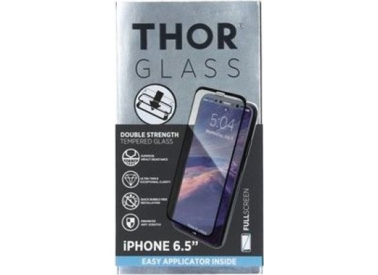 Thor Tempered Glass Protection For iPhone XS Max (33565) - Black