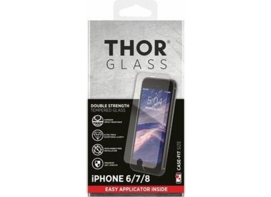 Thor Tempered Glass Protection For iPhone 8/7 / 6s / 6 (33738) - Clear