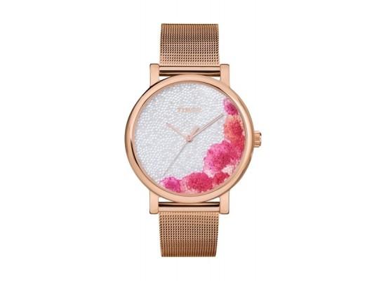 Timex 38mm Casual Ladies Analog Metal Watch (TW2U18700) - Rosegold