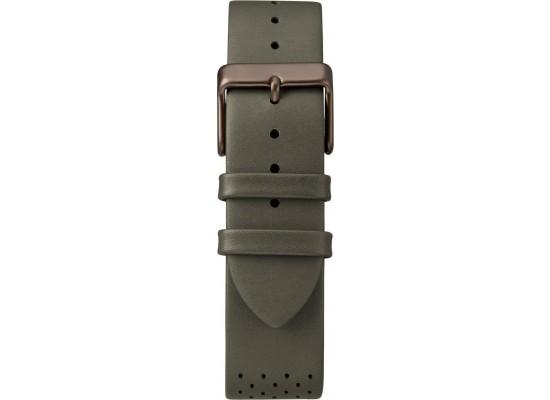 Timex SuperNova 41mm Leather Watch (TW2R97800)