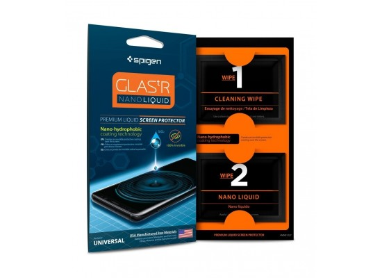 size 40 68be2 1b154 Spigen GLASS Nano Liquid Screen Protector - 000GL21813