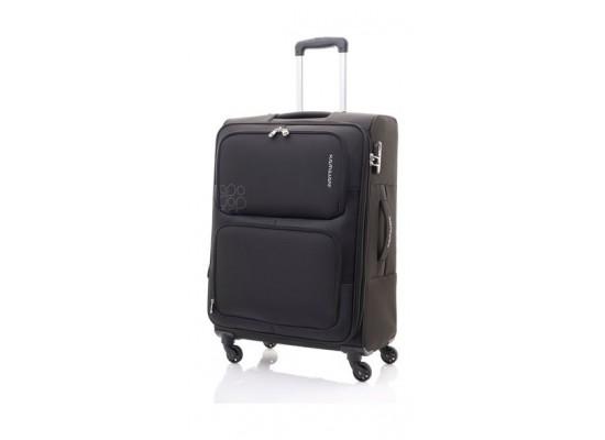 Kamiliant Toro 58CM Spinner Soft Luggage (82WX09001X) - Black