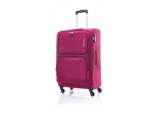 Kamiliant Toro 58CM Spinner Soft Luggage (82WX50001X) - Magenta