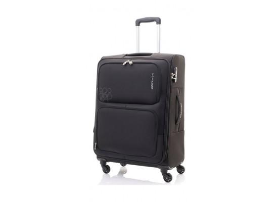 Kamiliant Toro 69CM Spinner Soft Luggage (82WX09002X) - Black