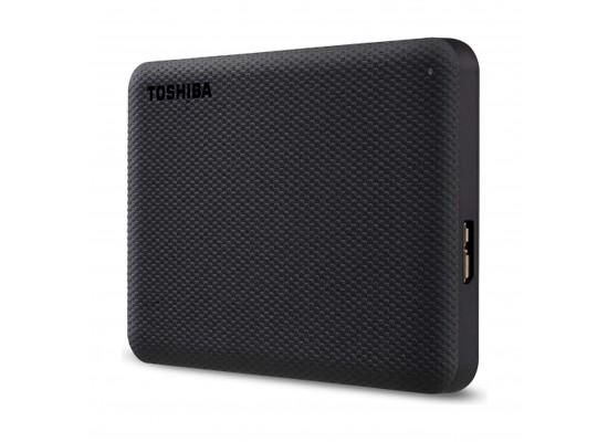 Toshiba Canvio Advance 2TB Portable Hard Drive - Black