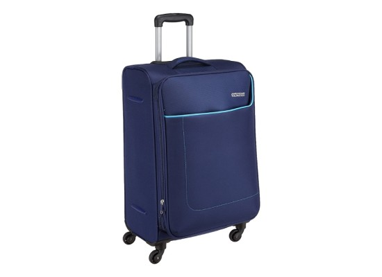 American Tourister Jamaica 69cm Soft Luggage Navy buy xcite kuwait