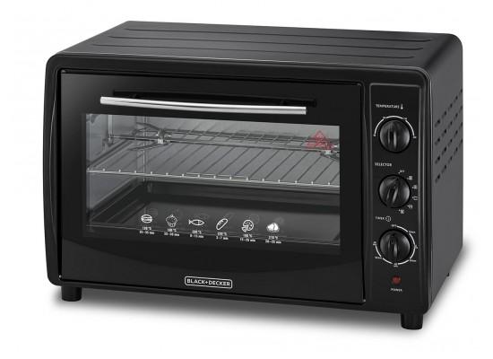 Black & Decker Electric Oven 1800W 45 Litres – (TRO45RDG-B5)