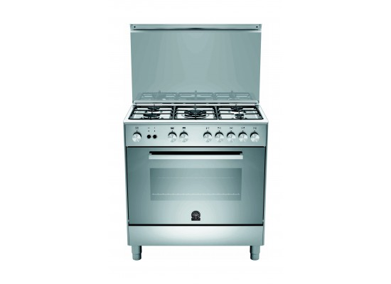 Lagermania 80x50 cm 5-Burner Floor Standing Gas Cooker + Daewoo 16 Cft. Top Mount Refrigerator + Daewoo 8 Kg 1200 RPM Washer