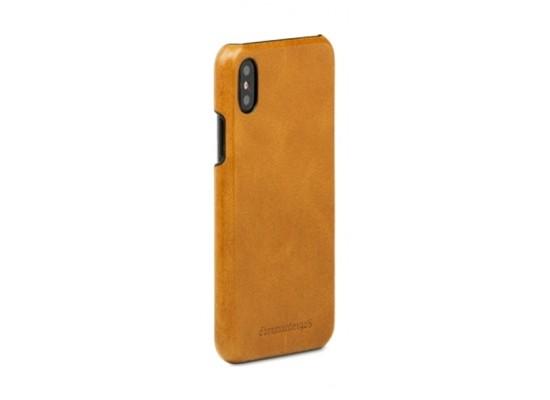 dbramante1928 Tune Series iPhone X Leather Case (TUI8GT000847) - Tan