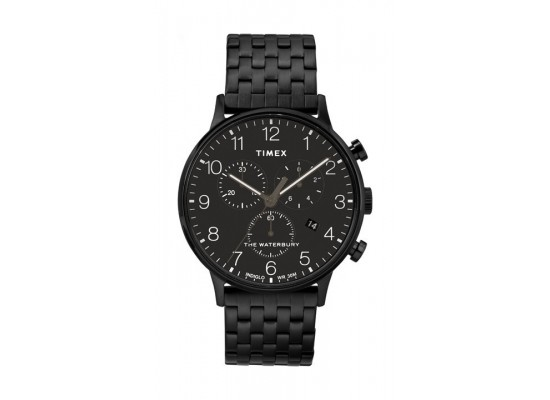 Timex Waterbury Classic 40mm Chronograph Gent's Stainless Steel Watch - TW2R72200