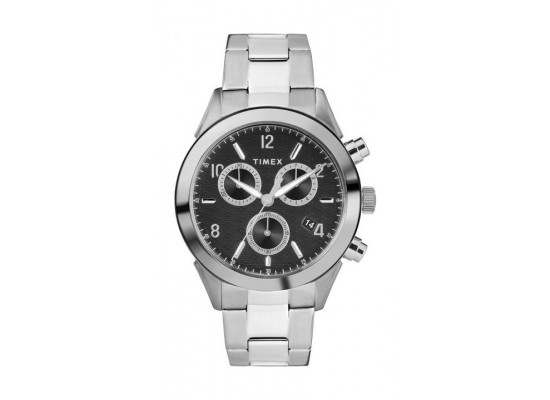 Timex Torrington Chronograph 40mm Gents Stainless Steel Watch - TW2R91000 4