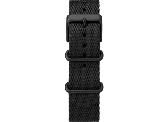 Timex Indiglo Chronograph 41mm Gents Fabric Watch (TW2T212000) - Black