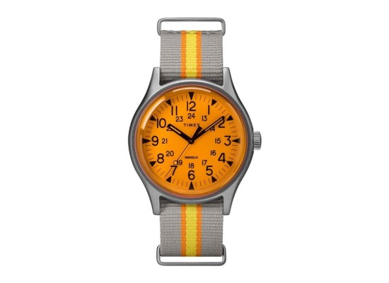 Timex 40mm Indiglo Gents Fabric Watch (TW2T25500)