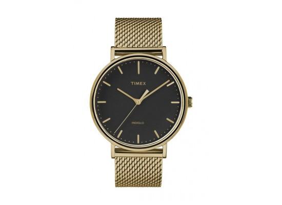 Timex Indiglo 41mm Analog Unisex Metal Watch (TW2T37300)