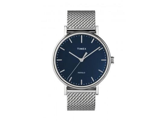 Timex Indiglo 41mm Analog Unisex Metal Watch (TW2T37500)