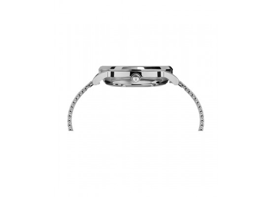 Timex 40mm Waterbury Analog Gents Metal Watch (TW2T70200) - Silver