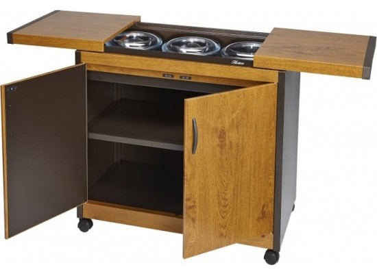 Wansa Food Warmer Trolley (TY-7001) - Teak