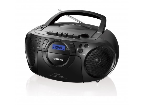 Toshiba 13W Compact Stereo CD Radio Cassette Recorder USB Music System (TY-CKU310)