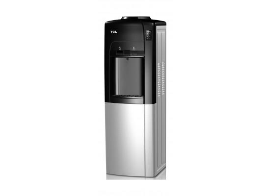 TCL Water Dispenser Fashion Push Design with Fridge (TY-LYR11B) – Black / Silver