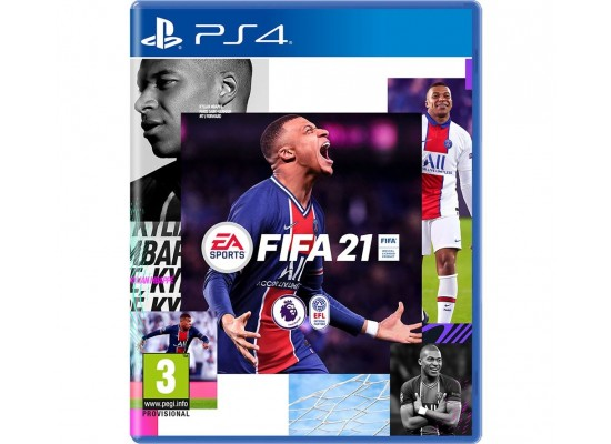 PS4 Dual Shock 4 Wireless Controller + FiFa 21 Game