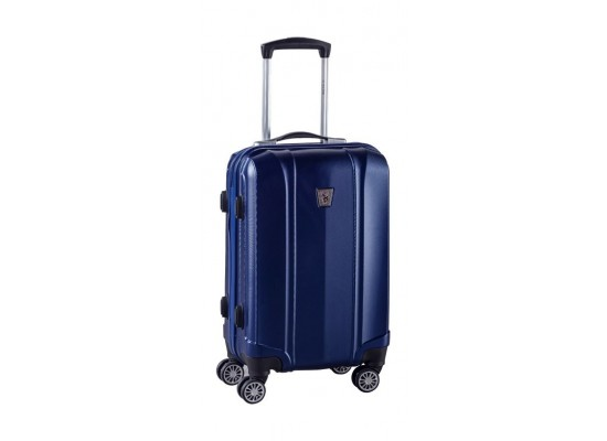 U S Polo Hard Luggage 55 Cm Plvlz7508c Blue