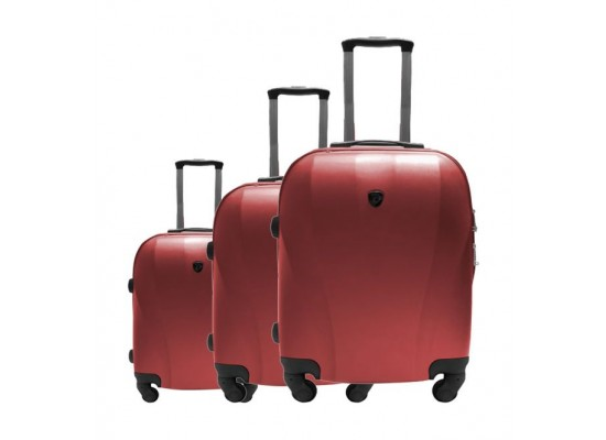 2f0f03b9581a US Polo Cappadocia 3 Set Hard Luggage (79X46X27CM) - Red