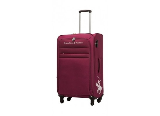 US Polo Optima Large Soft Luggage - Red