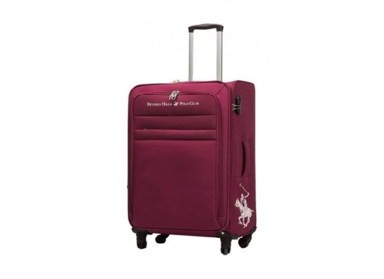 US Polo Optima Small Soft Luggage - Red