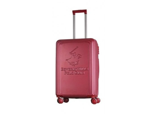 US POLO Paco Hard Trolley Luggage - Large/Red