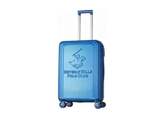 US POLO Paco Hard Trolley Luggage - Small/Blue
